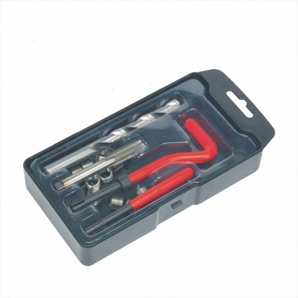 15 Piece M10 X 1.0 Thread Repair Kit Twist Drill Tap sxAz#