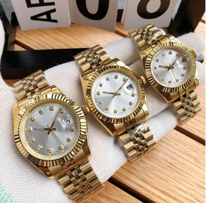 Movimento relógio de 31 milímetros 36 milímetros 41 milímetros Automatic Relógios Mecânicos Montre De Luxe Homens Mulher Alta Qualidade Relógios de pulso de ouro Designer relógios
