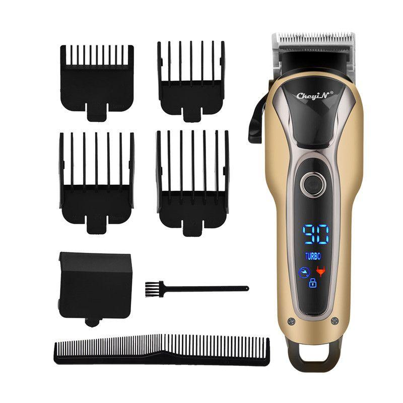Danceyi Аккумуляторная электрическая машинка для стрижки волос Профессиональный триммер волос для бритья для мужчин Barbers салон Styling Cutter Machine 4546