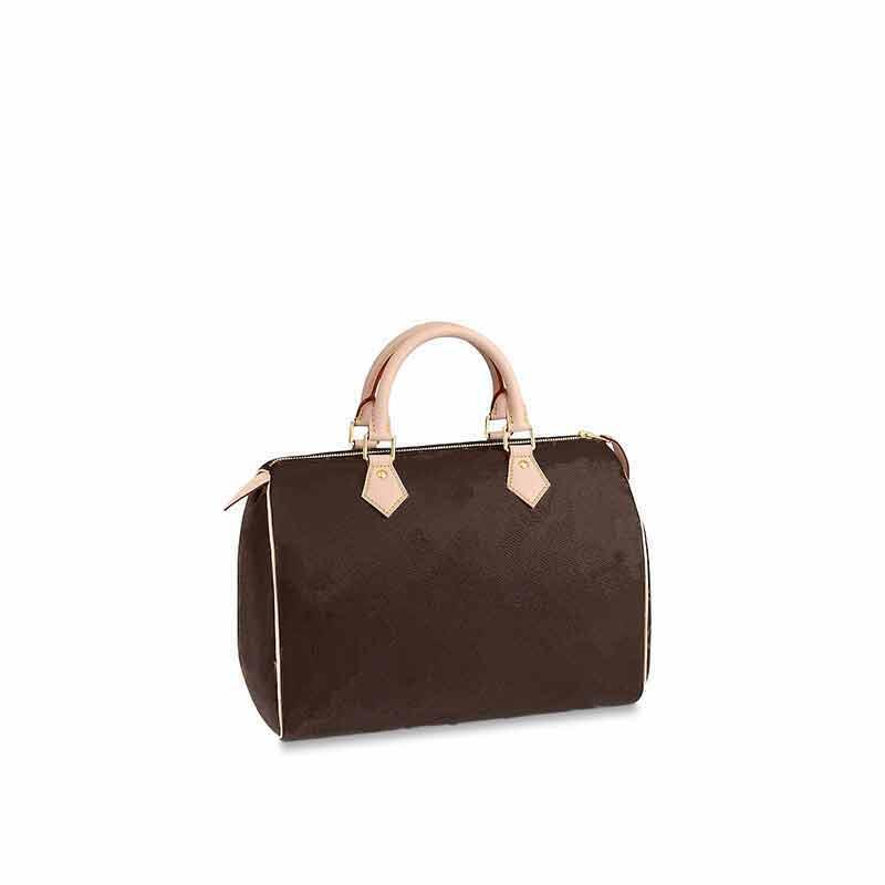 25cm L Boston Reale 30 cm Muster Totes Stil Frauen Sped Mode 35cm Kissen Handtaschen Damen Ledertasche Klassische Blume Geldbörse HMDSD Wcnol