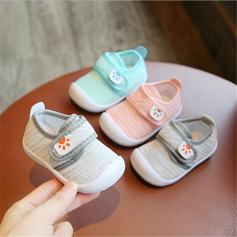 baby toddler shoes girl boy shoes non-slip soft bottom air mesh breathable B-18 3colors 6sizes Tx09