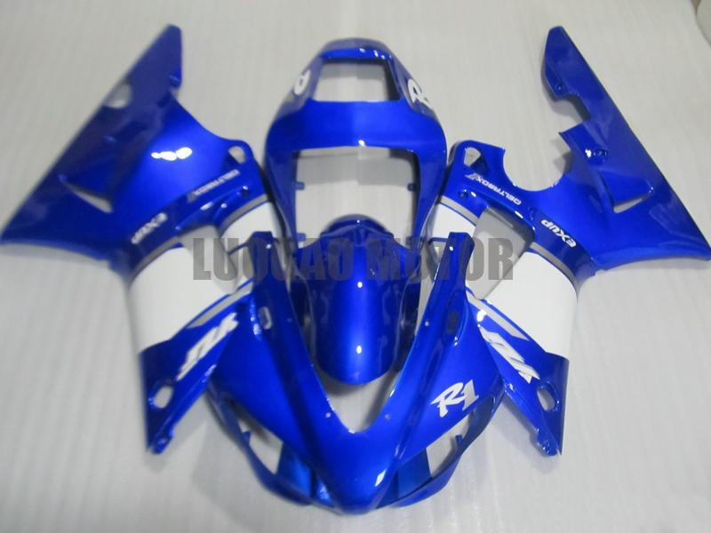 100% raccordo bodykits per YAMAHA YZF1000 1998 1999 Yamaha YZF R1 1998 1999 YZF 1000 98 99 ABS carenature YZF R1 kit 98 99 Yamaha R1 Carena