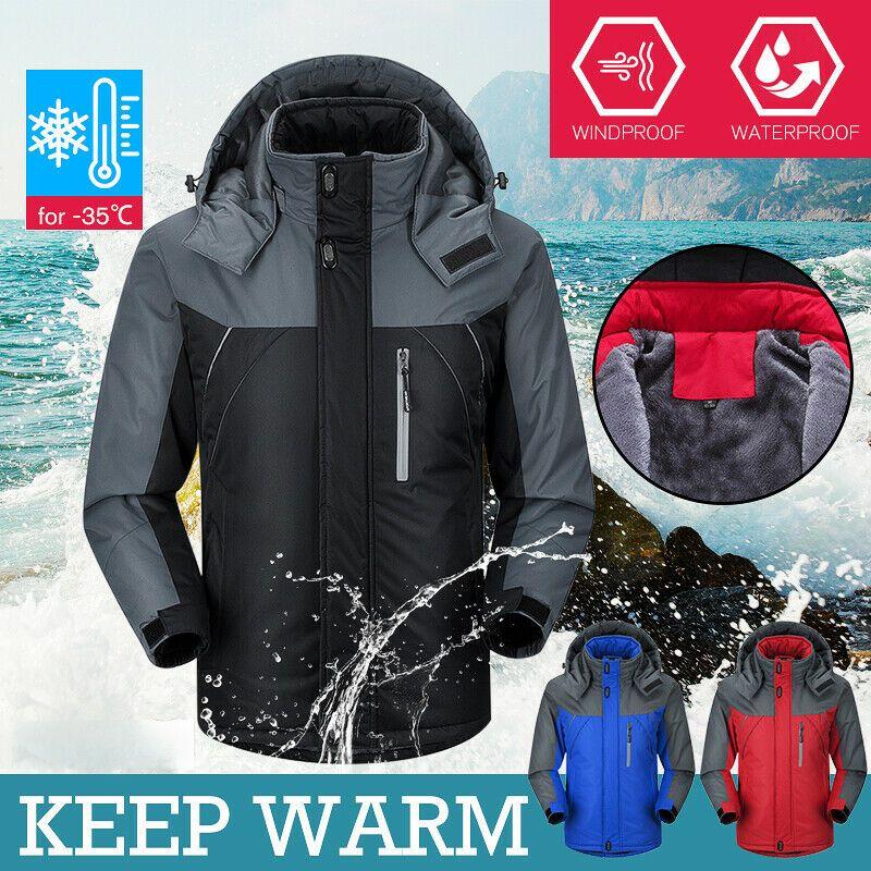 Открытый куртки осенью зима мужчин кемпинг с мягкой шезлонкой Водонепроницаемые ветрозащитные куртки, восхождение охотничьи лыжные пальто мужские виды спорта