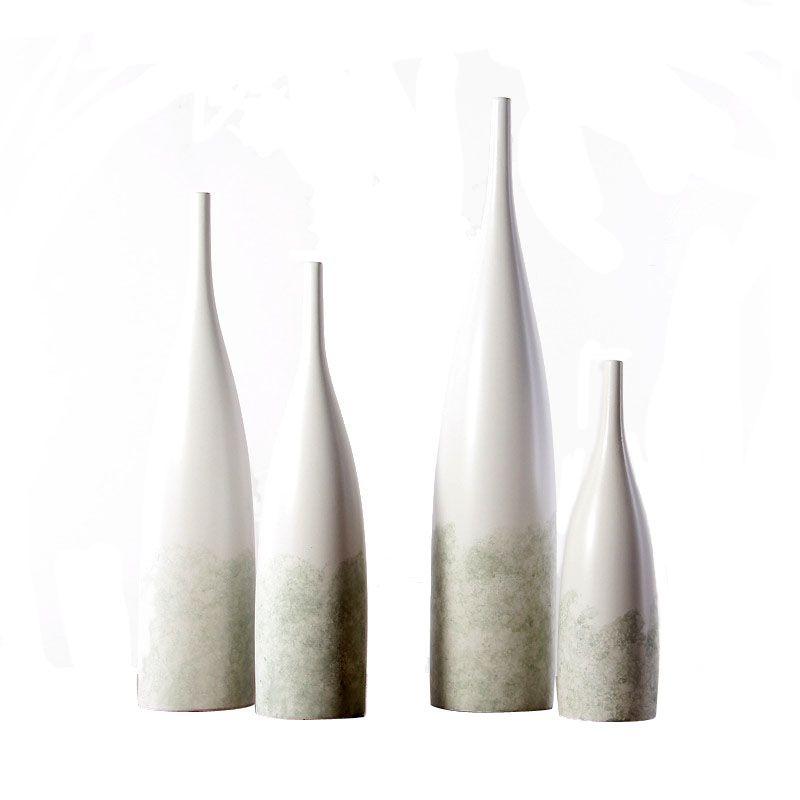 Элегантные зеленые пузырьки глазури керамические вазы современные декоративные цветочные центры для домашнего декора гостиной и офисного стола
