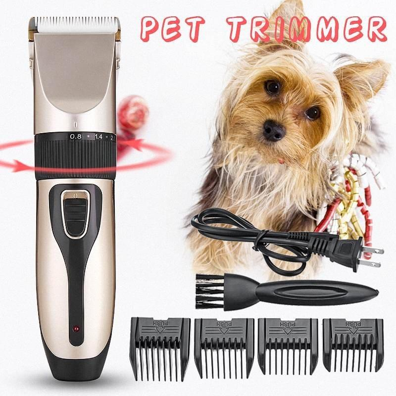 Professional Cordless Electric Grooming Tool Pet Clipper Hair Clipper Cat Pets Rechargeable Dog Shaver Animal Haircut Machine 5R2l#