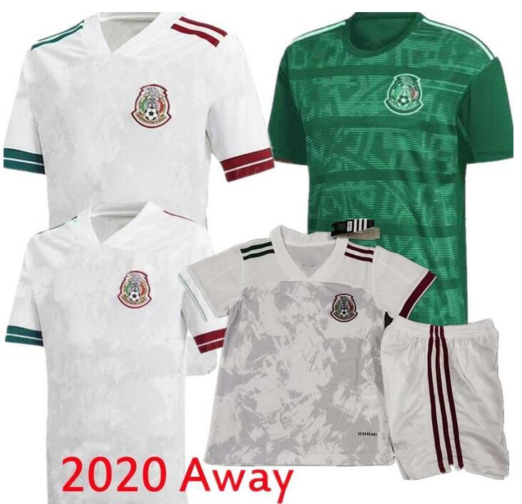 Mexico White Jersey 20//20 Player Version Jersey Sizes Available Medium Adult