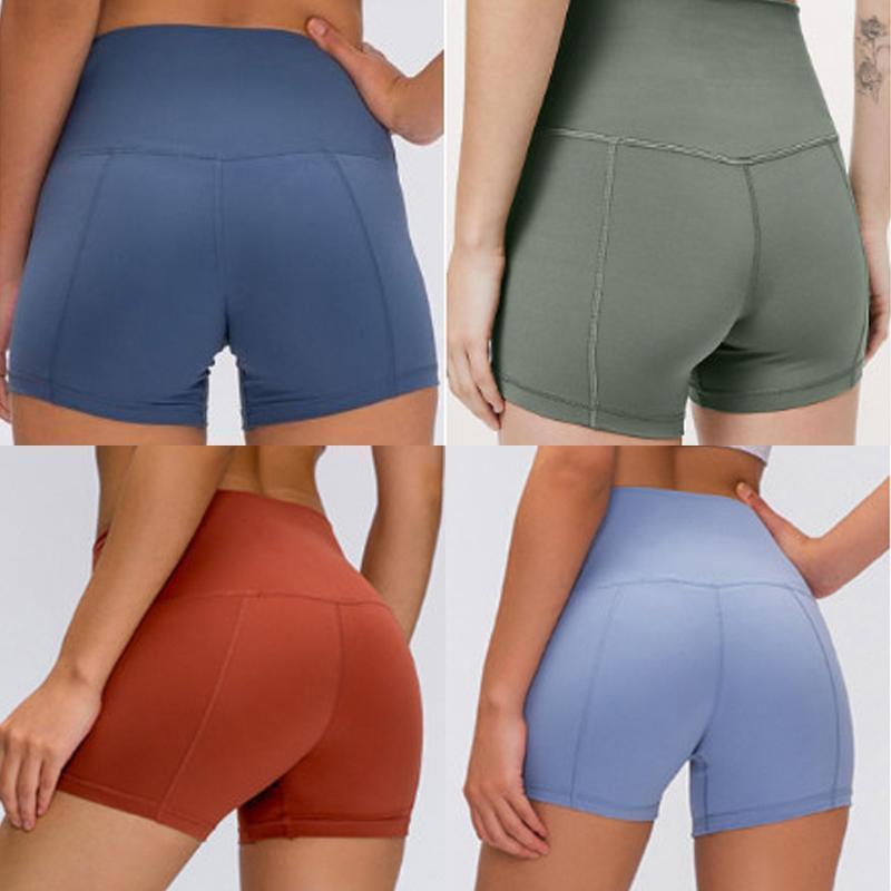 designer luxury lu lululemon women lulu gym leggings shorts womens yoga pants yogaworld stacked leggings de marque sport femmes fitness