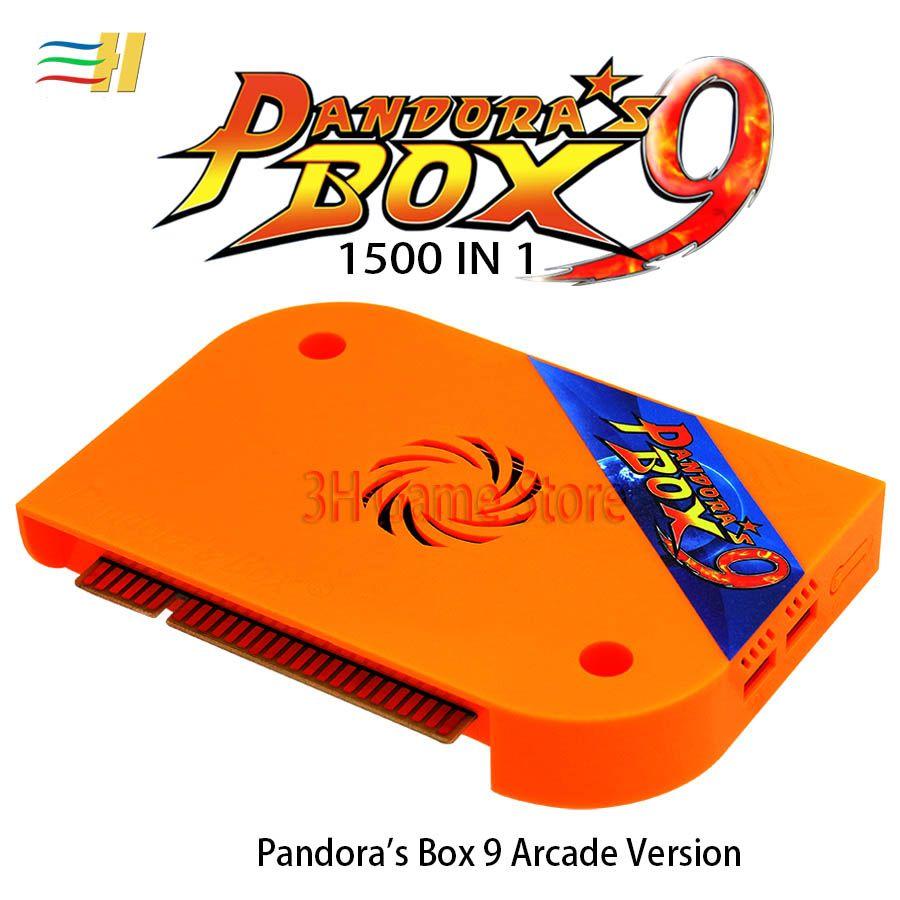 판도라의 상자 (9) 1500 (1 개) 아케이드 게임 JAMMA 보드 HDMI VGA 출력 HD 720P에 대한 아케이드 기계 아케이드 캐비닛 판도라의 5S 6S (7)