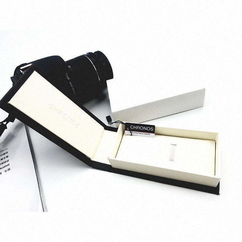 Chronos Özel İzle Hediye Kutusu Moda İzle Kutusu Kağıt Jenerik Watchcase Vaka Saatler Lüks Q20n # Paketleme için