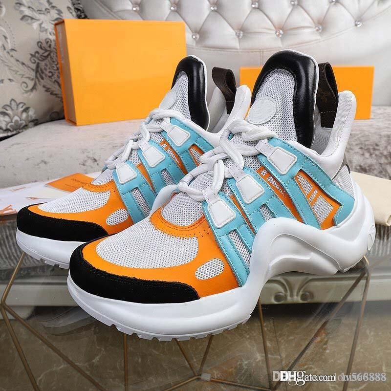 33 renkler moda klasik lüks tasarımcı erkek ve kadın rahat deri ayakkabı 35-44 sınırlı tasarımcının spor ayakkabısı N42-2 L5-2