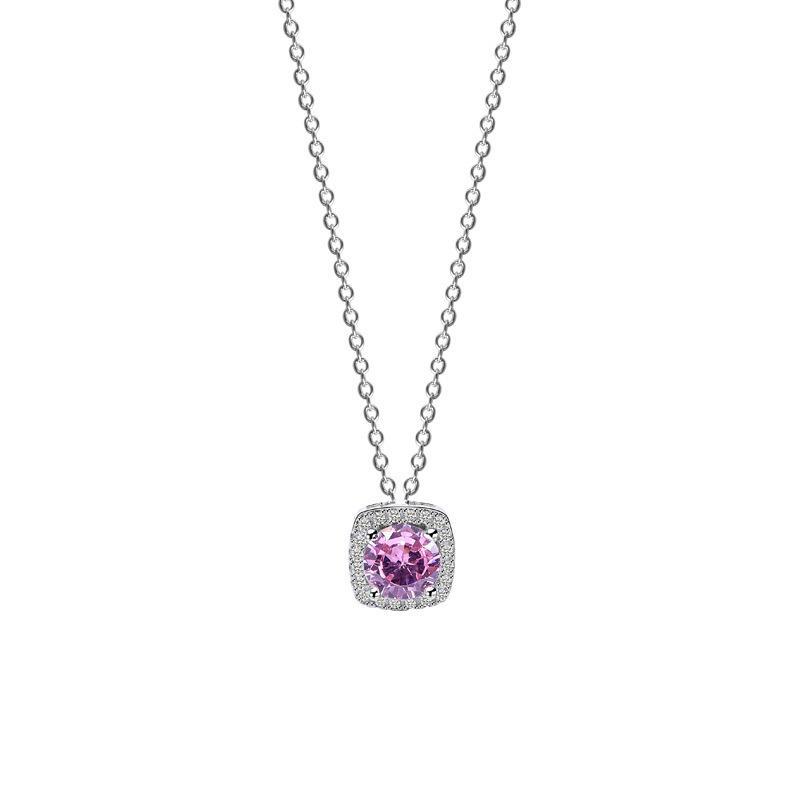 Ornamento de plata D S925 multi-direccional de uso del anillo del collar novedad creativa circón collar Fabricante MOQ1