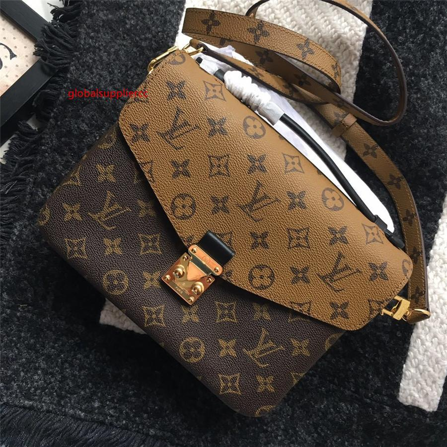 Moda Pequeno Mensageiro Sacos Bandoleira para as Mulheres 2020 Mini bolsa de couro Bolsas Ladies Telefone Purse 25 x 19 x 9 centímetros