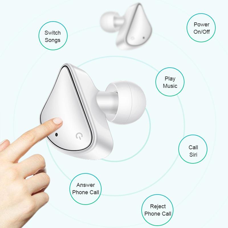 BOHM MINI TWS 헤드폰 무선 폰 드 ouvido 이어폰 블루투스 5.0 시리 전화 이어폰 HD는 스포츠 헤드셋 스마트 폰을 호출