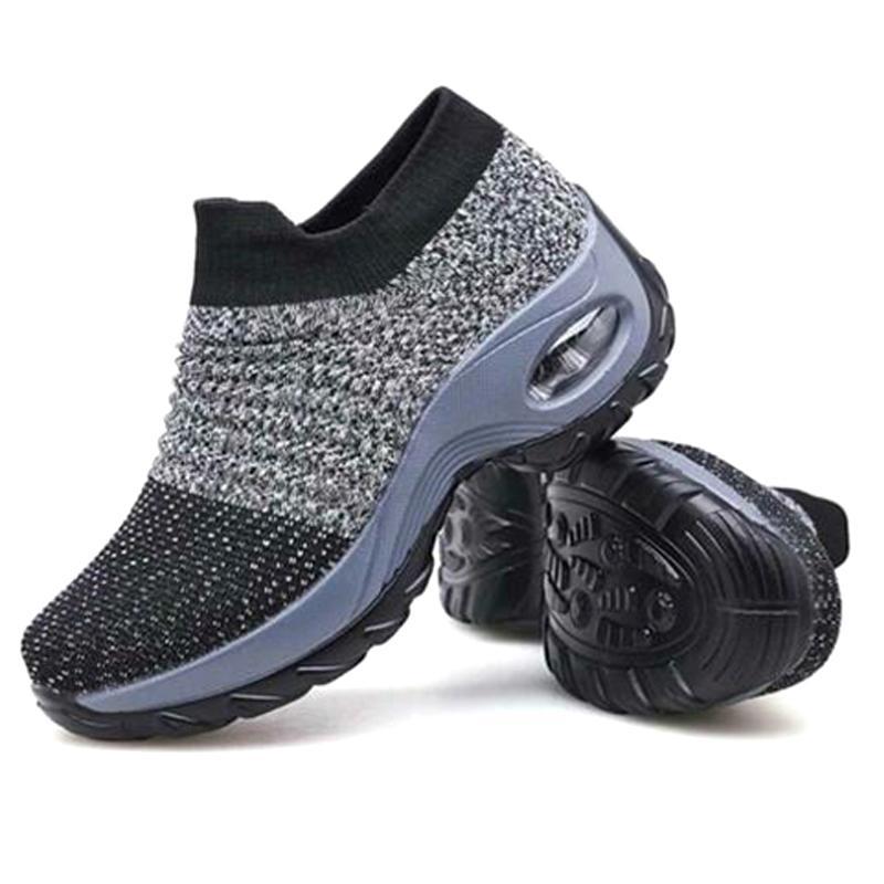 Adatti a donne i piedi scarpe molle eccellente di aumento di altezza Viaggi pattini esterni cmfortable leggero e traspirante