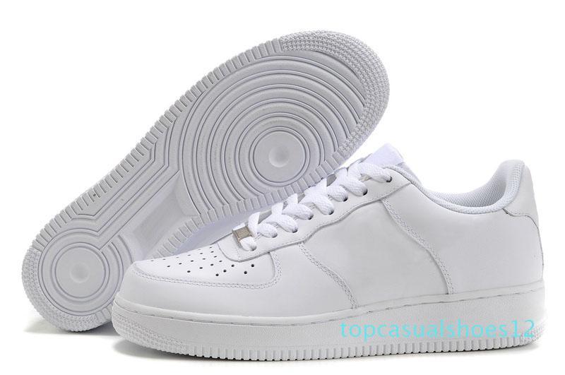 CORK Für MenWomen Qualität eines lässigen Schuh Low Cut All Weiß-Schwarz-Farben-beiläufige Turnschuh-Größe t12