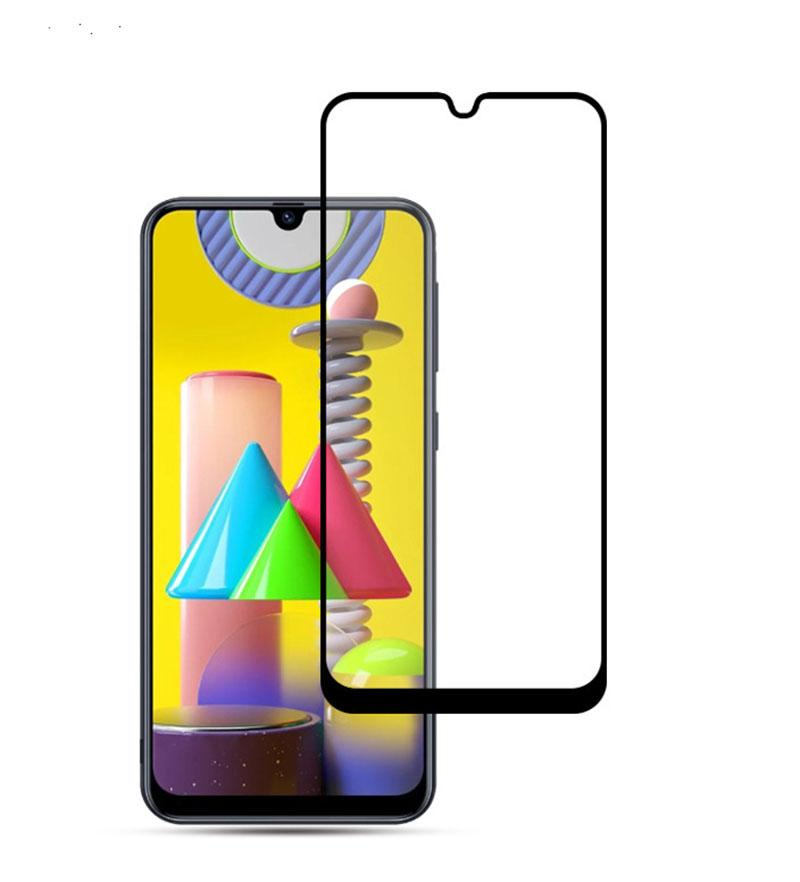 For OnePlus Nord N10 5G Revvl 4 4 plus Full Cover Tempered Glass Black Border Screen Protector Samsung S20 Fe Google pixel 5 Moto g Play