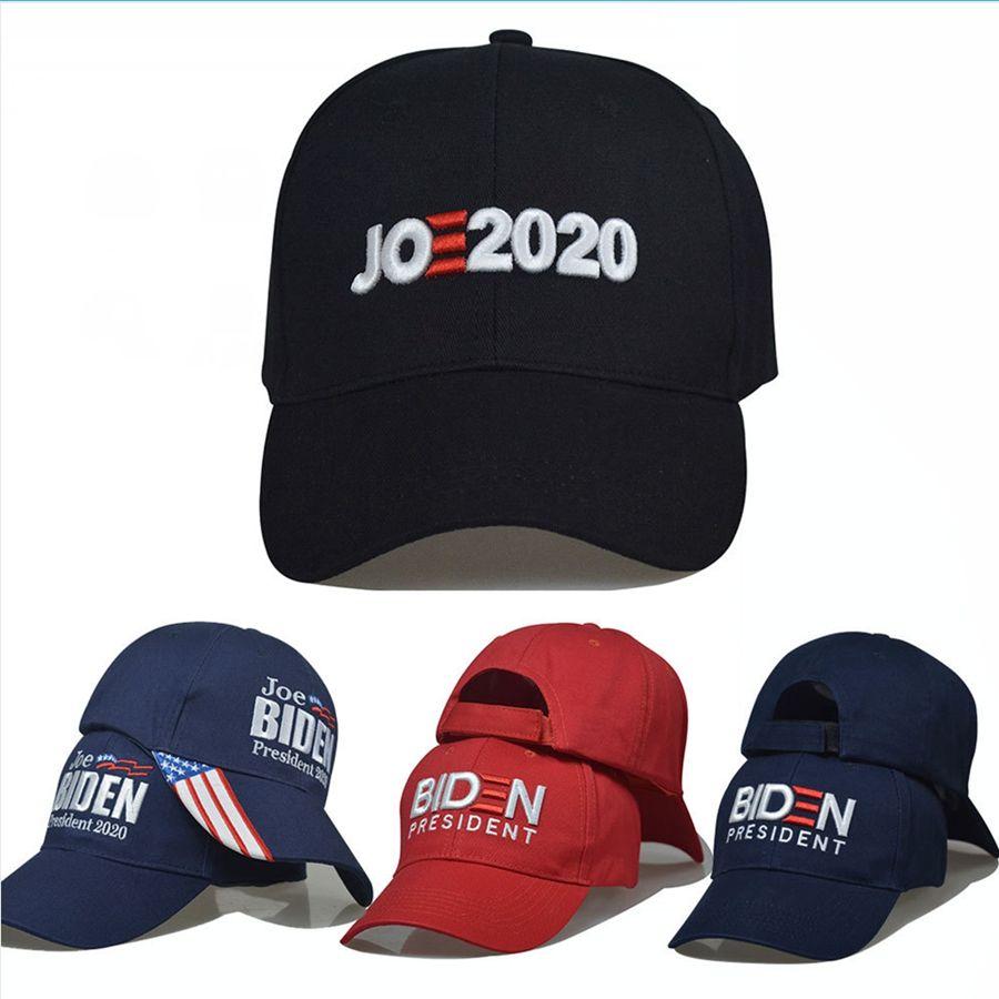 Joe Biden Baseball Cap 20 Arten US-Präsident Election Vote Truckermütze justierbare Kappe Cotton Sport Hüte DDA180