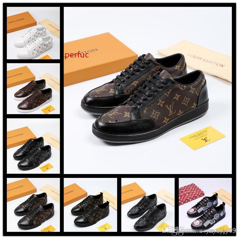 Sapatos newst Original Design de Moda Mens com qualidade superior Mulheres Luxury Design Homem da sapatilha Casual Ás Shoes verde Red Stripe Tamanho 38-45