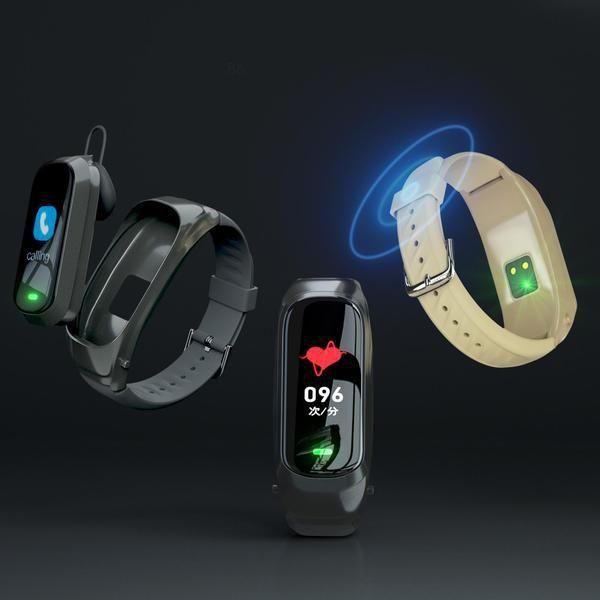 JAKCOM B6 llamada elegante reloj de la nueva técnica de otros productos de vigilancia por perdido mi banda SmartWatch correa metálica 4
