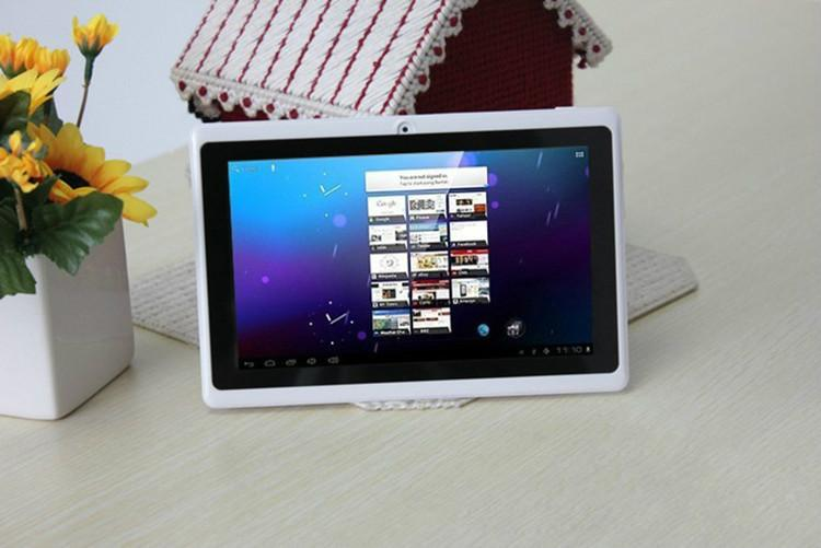 7 Inch A33 Quad Core Tablet PC Q8 Allwinner Android 4.4 KitKat Capacitive 1.5GHz 512MB RAM 8GB ROM WIFI