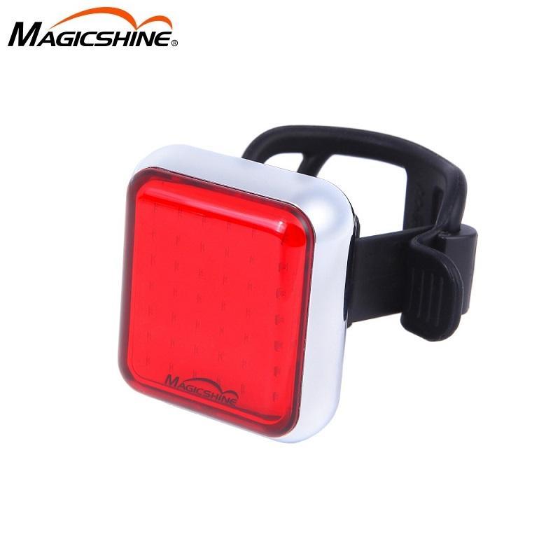 Magicshine SEEMEE Fahrradstoppsensor Sicher Rücklicht Radfahren Smart-Rücklicht Rennrad USB Charge MTB Wasserdichte Blitzlicht