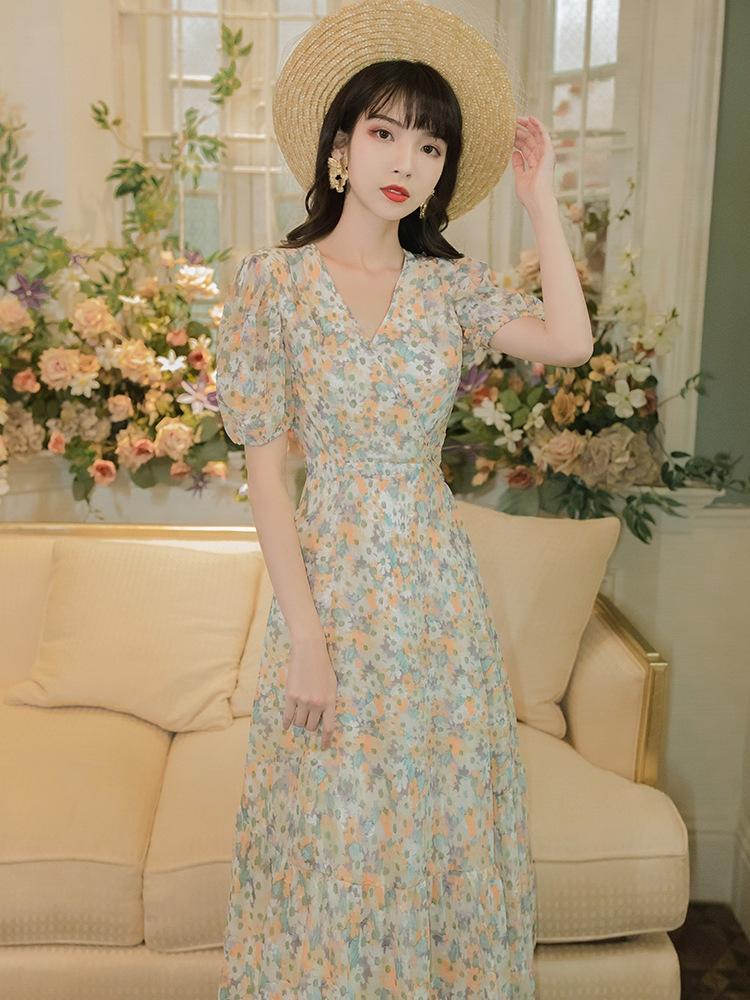 9rbEx Xi Yan 6208 Xiyan jupe # 6208 imprimé jupe portefeuille # 6208 # sk imprimé wrap