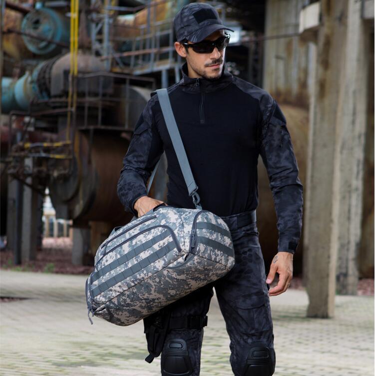 Outdoor travel SUV Car backpack multi purpose Large bag fitness backpack large messenger bag sports luggage Hand-bag