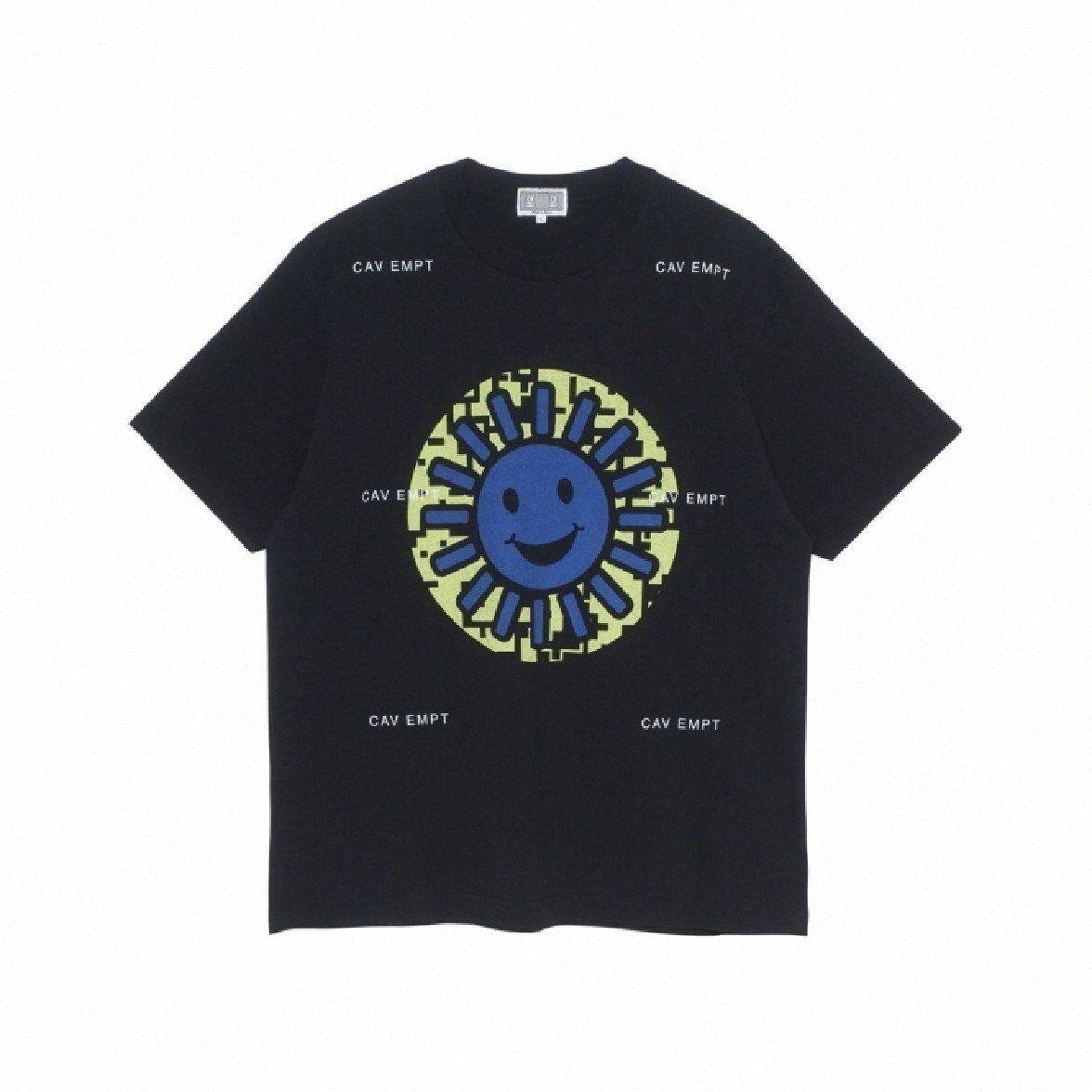 Mens Fashion Designer Hip Hop rue T-shirts C.E Impression solaire en vrac à manches courtes Homme Vêtements Respirant PX6e #