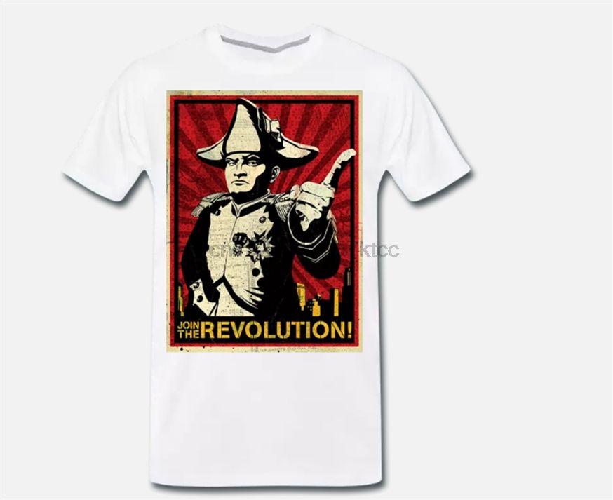 T-shirt Maglia Napoleone Bonaparte Cotone 100% - Choose Your Colore Taglia 2 Vintage Tee Shirt divertente