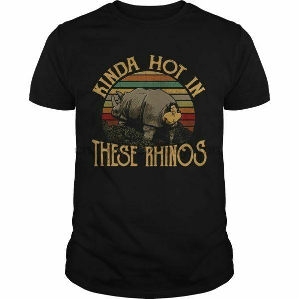 Ace Ventura Любопытное Hot In These Rhinos Рубашка