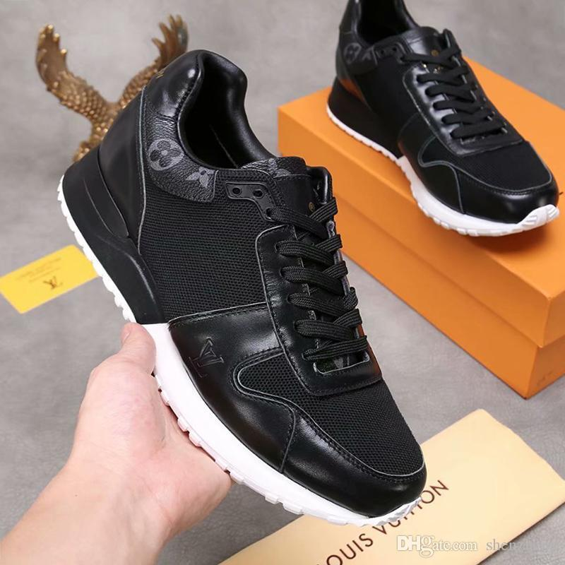Fashion Mens Shoes Sneakers Breathable Design 2020 Men Shoes Running Outdoor Footwears With Origin Box Zapatos De Hombre Luxury Design