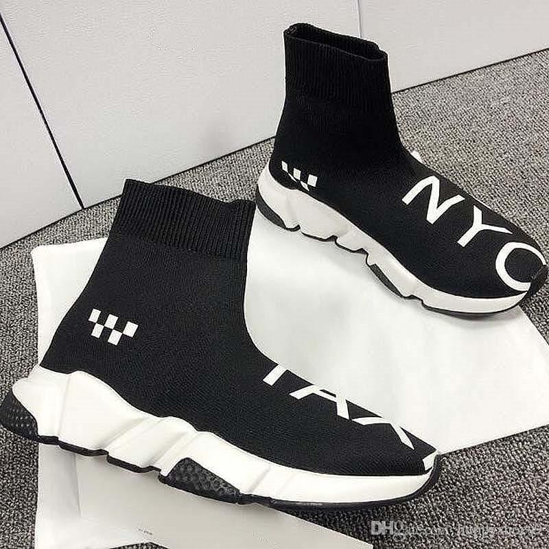 Fashion Sock Shoes Speed Shoes Women