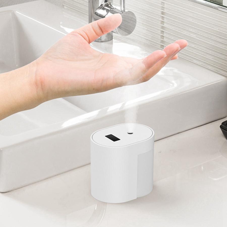 100ml Otomatik İndüksiyon Alkol Püskürtme Fotoselli Akıllı İndüksiyon El Temizleme Dezenfeksiyon Sterilizatör Temizleyici USB HHA1362 Sprey