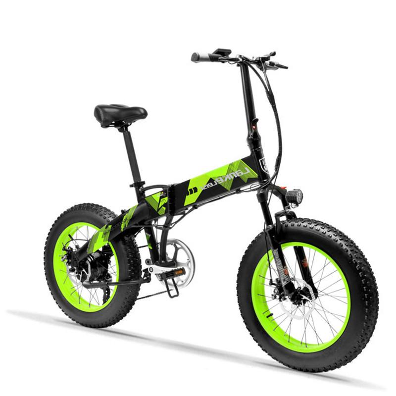 Electric Scooter Adults Two Wheels Electric Bicycle 20 Inch Big Tire 500W Electric E Bike Scooter With Double Brake