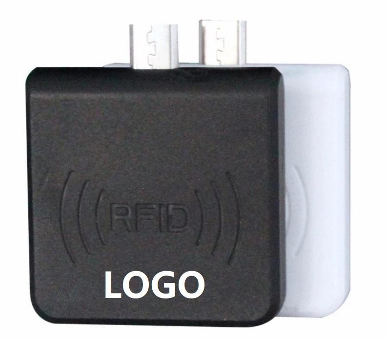 Контроль доступа чтения карт памяти Mini Size USB IC RFID карты Writer для Android мобильного телефона Micro USB Card Reader 13,56 Accpet prinitng