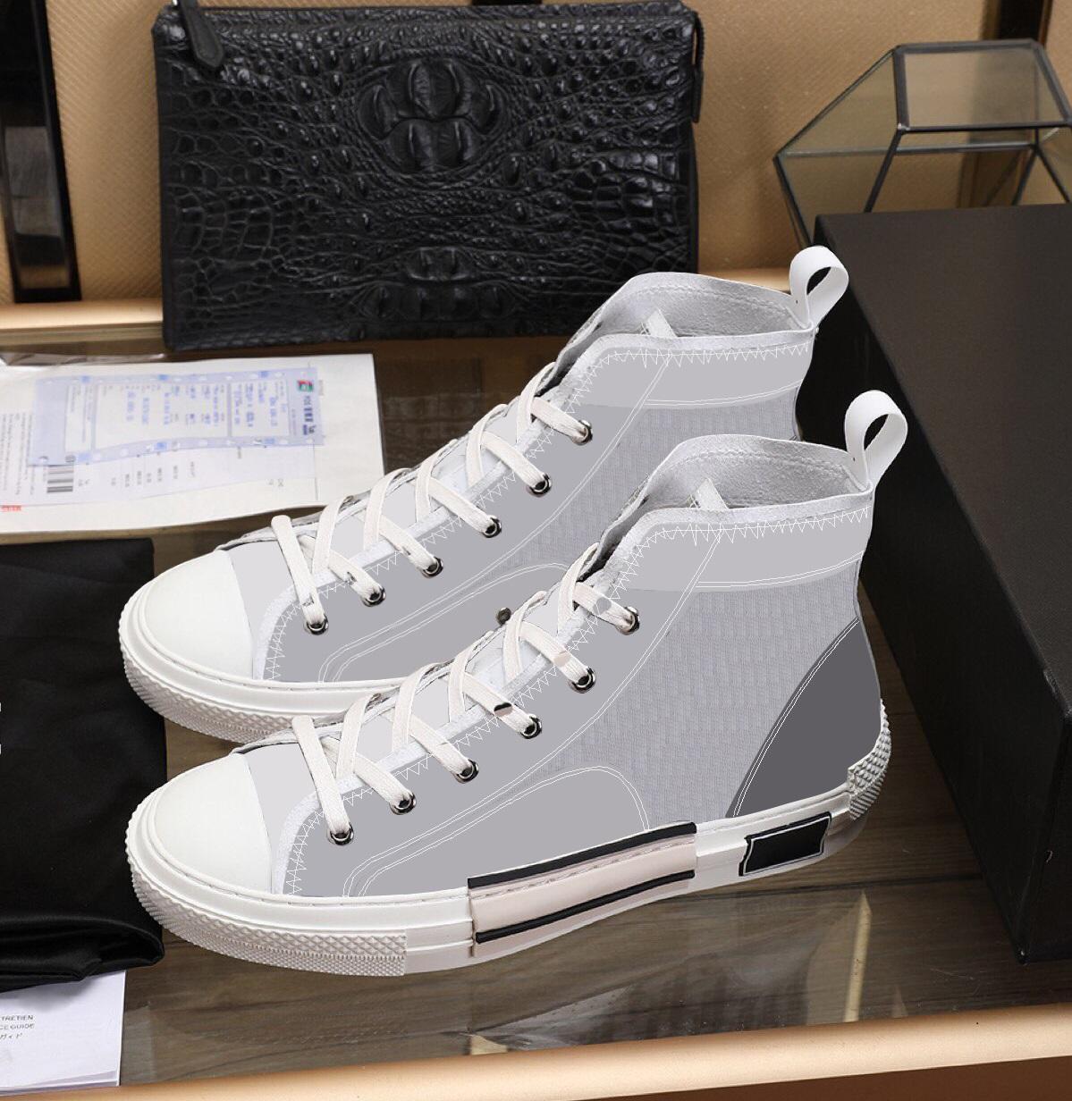 2020 neue limitierte Edition individuell bedruckte Leinenschuhe, Art und Weise vielseitig hohe und niedrige Schuhe, mit der Lieferung der Originalverpackung Schuhkarton 34-45