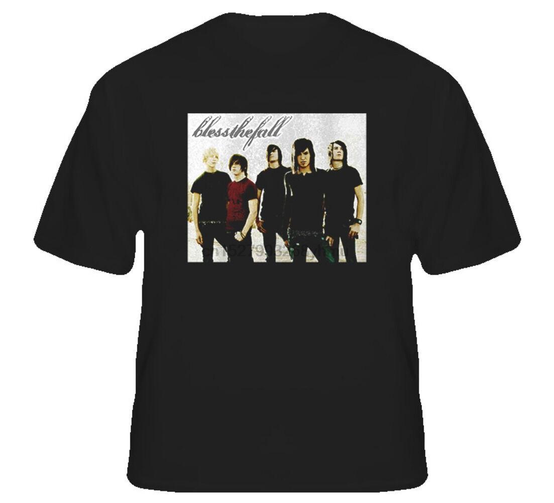 Blessthefall музыкальная группа Металкор Hard Rock T Shirt