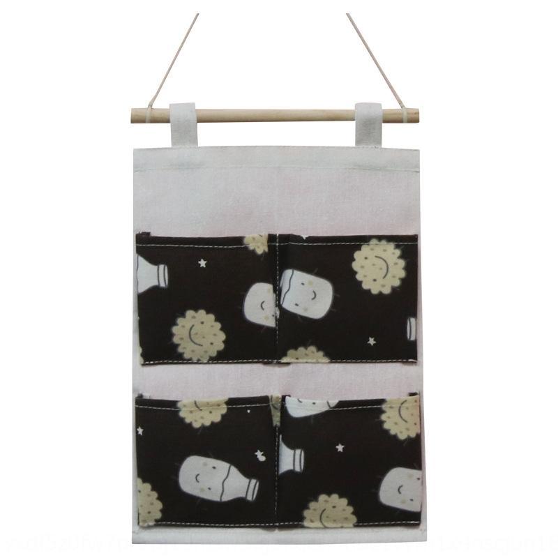 Hanging tissu nouvel accrochage quatre sacs de stockage de sac de hipsterstorage