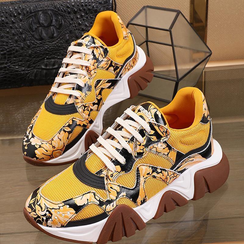 Drop Ship Herrenschuhe Bequeme Mode-Designer-Schuhe Spitze -Bis Low Top plus Größen-beiläufige Herren Schuhe Squalo Turnschuhe Chaussures Hommes Gießen