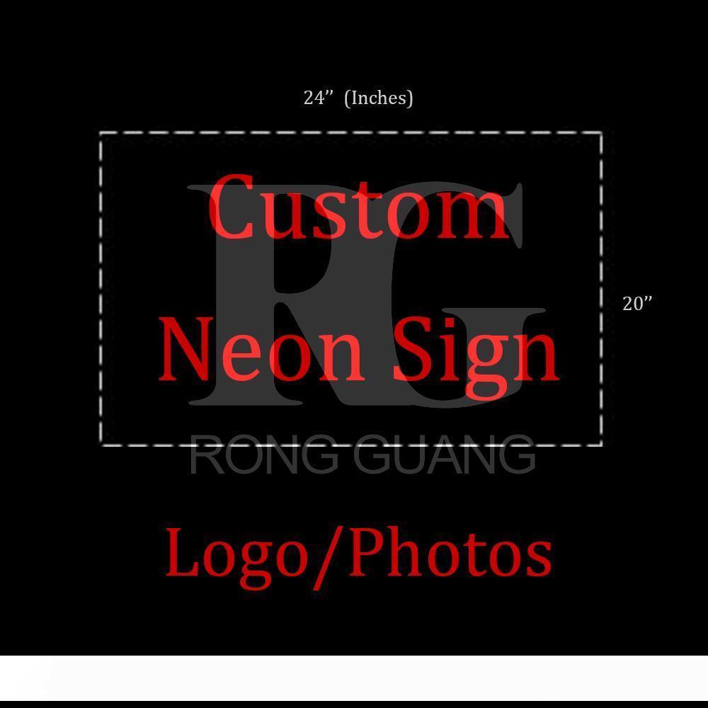 Neon İşaretler Hediye Custome Tasarım İşaretler Beer Bar Pub Mağaza Parti Homeroom Dekor 24x20