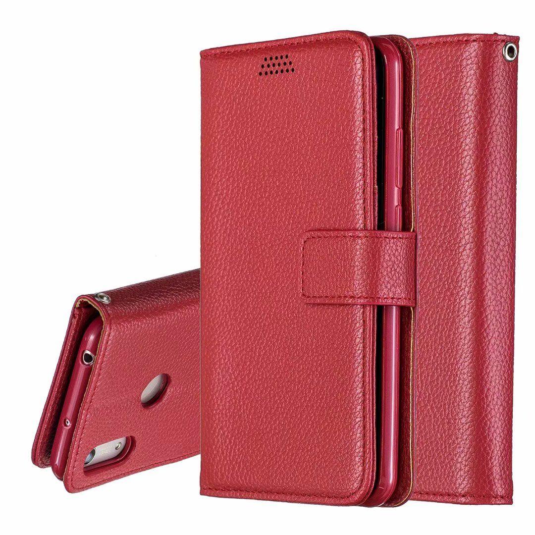 cas de haute quanlity téléphone TPU cuir portefeuille litchi P30 Case Pour Huawei mate 20 pro Lite Y9 Y7 Y6 Y5 2019 2018