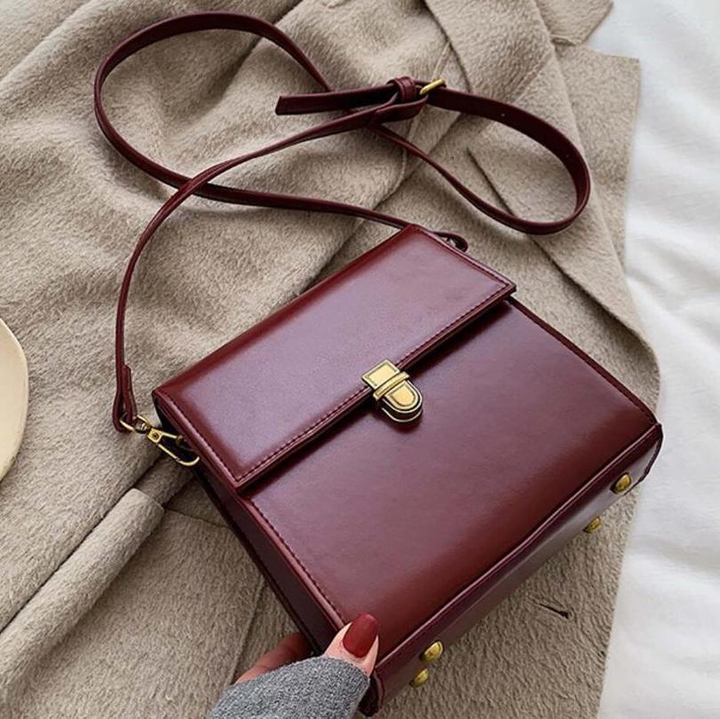 Epoca moda femminile Bag Piazza 2020 progettista delle donne del cuoio di alta qualità borsa di blocco Shoulder Bag Messenger borsa da viaggio