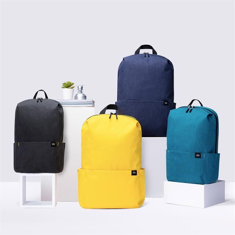 الأصلي xiaomi 7l 10LBackpack متعددة اللون المستوى 4 طارد المياه حقيبة الكتف السفر للنساء الرجال طالب السفر التخييم
