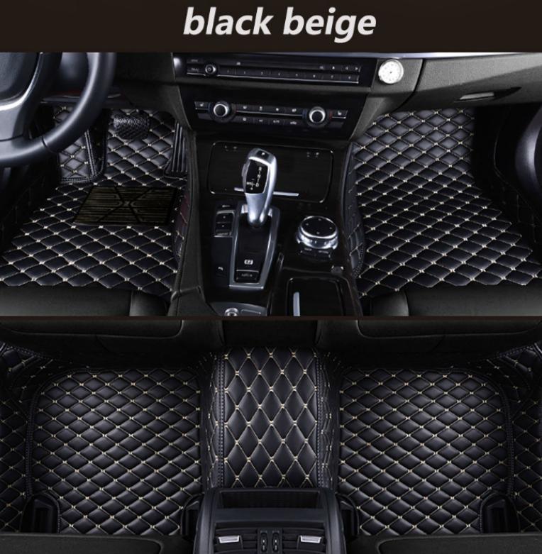 Para Infiniti QX80 2013-2017 Car Pad Pé de Luxo Surround Waterproof Couro / ** +
