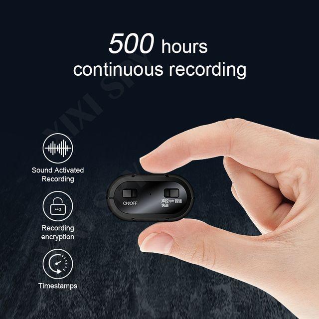 mucchio Digital Voice Recorder XIXI SPY 500hours registratore vocale dittafono penna mini audio audio digitale professionale attivati micro lampo d ...