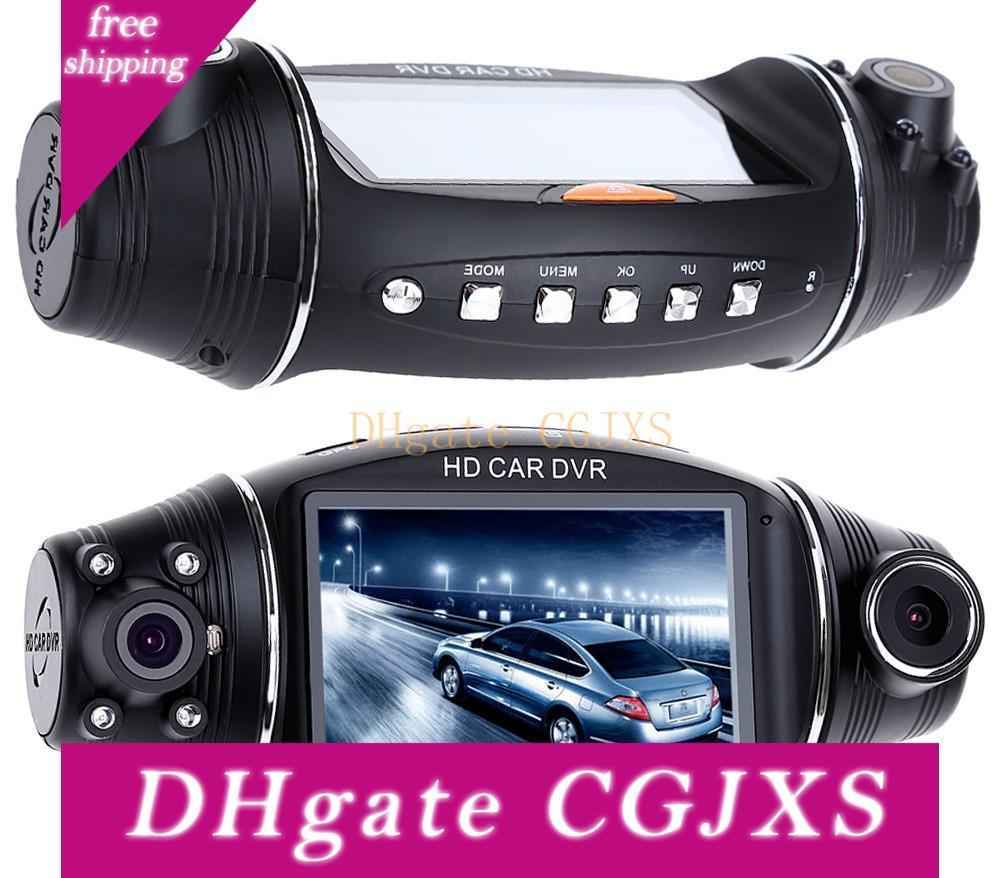 """Full HD 1080P Portable Car Camera DVR Video Recorder With G-Sensor Car DVR for Vehicle Auto Vedio FHD Dual Lens 2.7"""" LCD Display"""