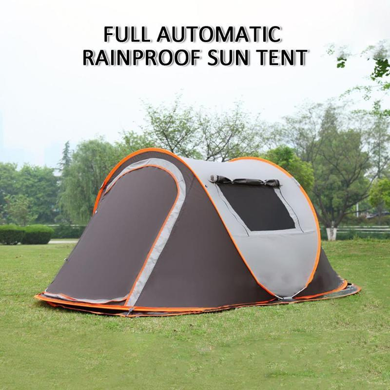 Cooling Camping Tent Waterproof Portable Polyester UV Protection Water Outdoor Hiking Sea Travel Beach Summer Garden