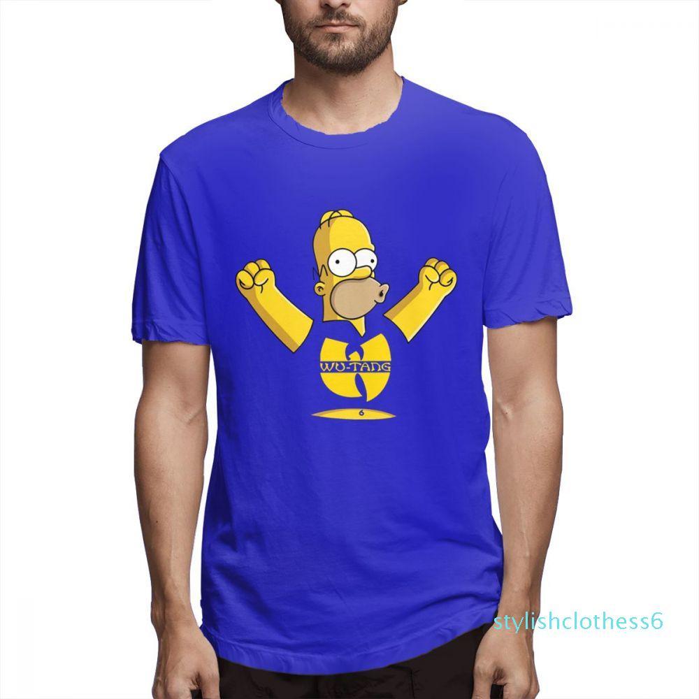 Simpsonlar Moda Tasarımcısı Gömlek Kadın Gömlek Erkek Kısa Kollu Gömlek Nedensel yaz c5107s06 başında Simpsons Baskılı T Gömlek