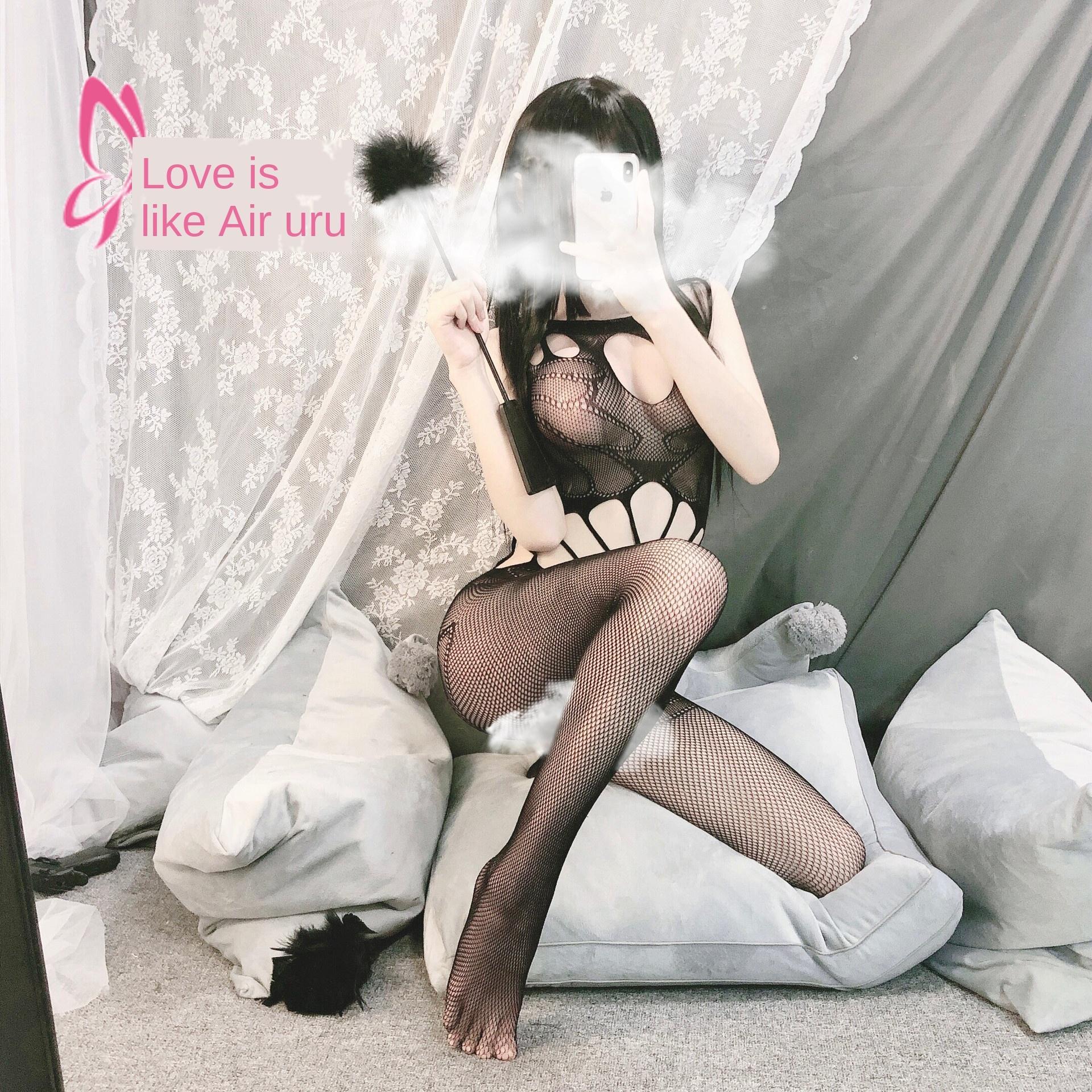 Amor Ruru sexy calcinha de três pontos paixão livre apertado lágrima pequena Underwear peito sexy malha fábrica de terno