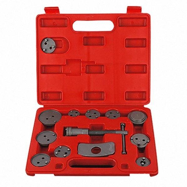 13 Pcs Universal Car Auto Precision Disc Frein Recule Tool Kit plaquettes de frein Pompe à piston réparation voiture outil Kit zZGh #